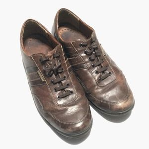 Mephisto Mens Oxford Shoes Walking Sz 13 Leather
